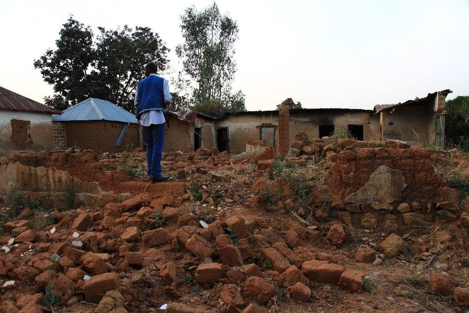 Nigerian Christian Village Destroyed